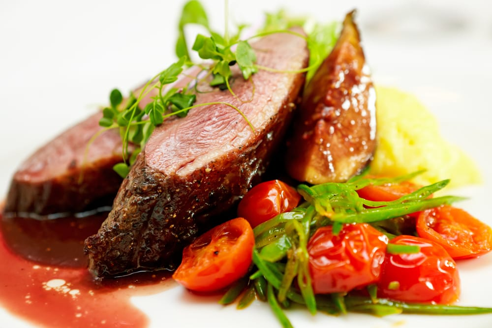 Fillet with fig sauce recipe