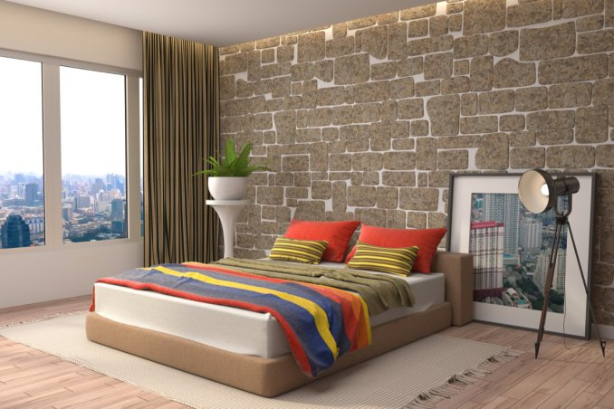 How To Furnish A Double Bedroom: 5 Original Ideas