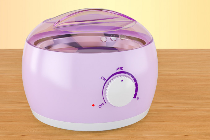 How To Clean A Wax Heater To Remove Wax Residue