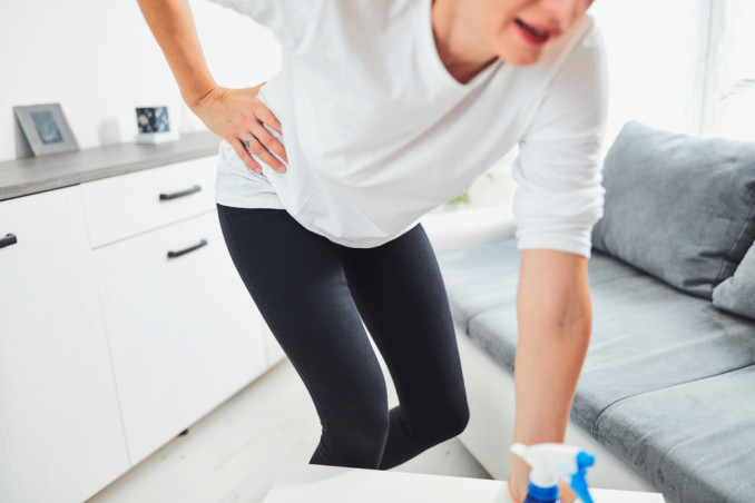 Back Pain And House Cleaning: 7 Mistakes To Avoid For Correct Posture
