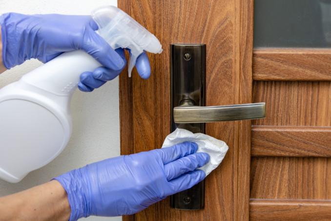 How To Sanitize Door And Window Handles