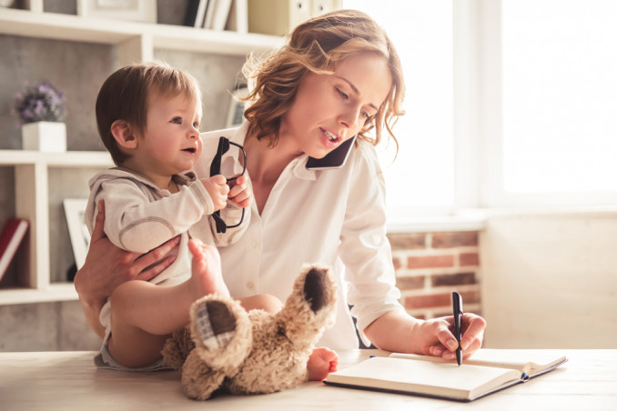 5 Tips For Working From Home When You Have Children