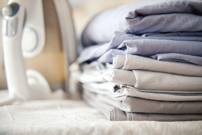 How To Iron And Fold Sheets Without Stress