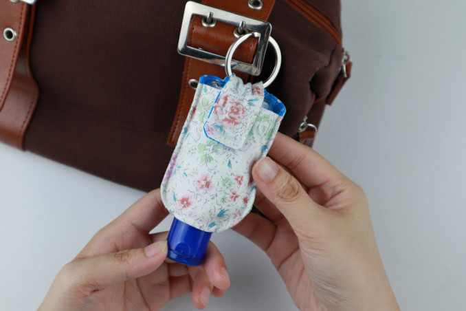How To Sew A Sanitizing Gel Bag: 10 Simple Steps